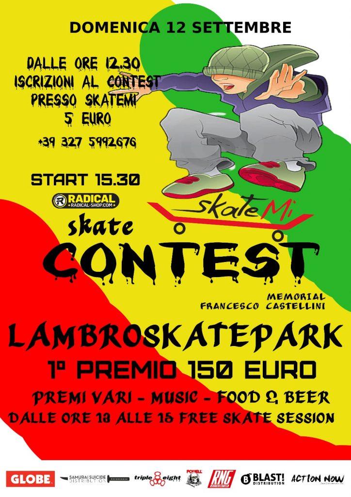 Locandina Contest Skate
